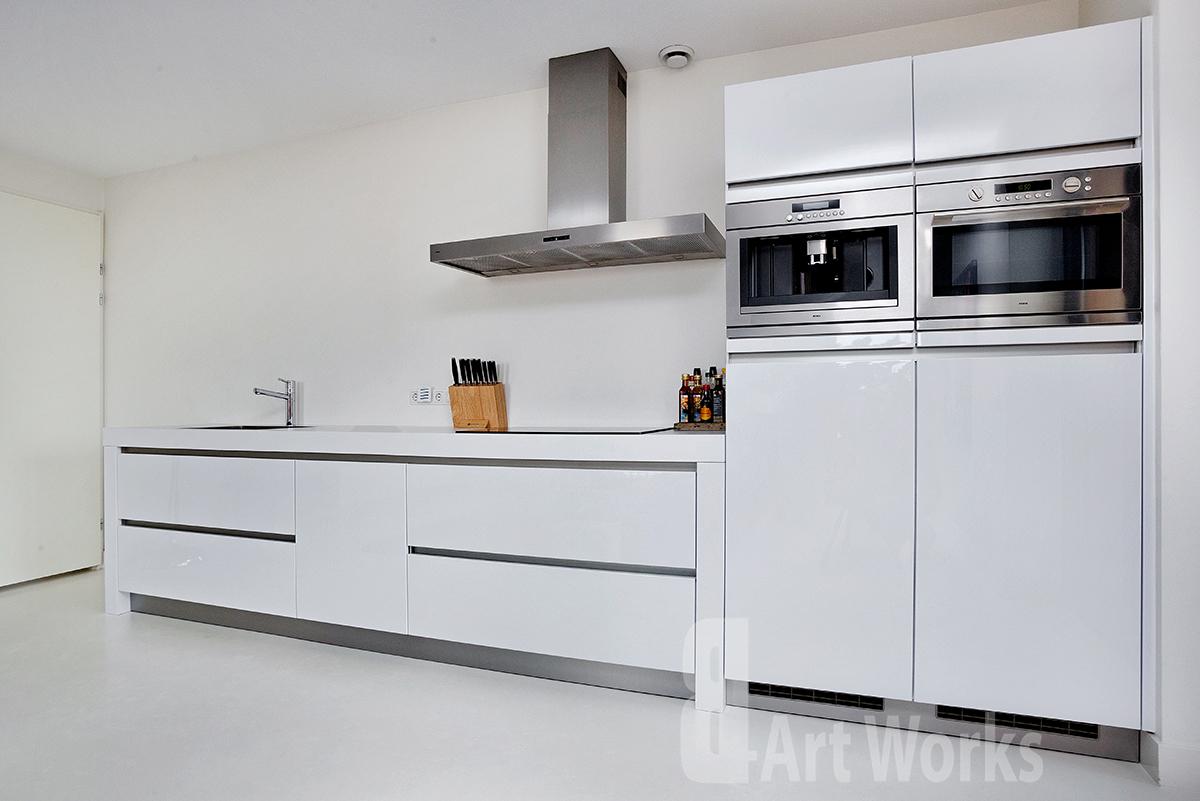 Keuken Gietvloer Marmer : Gietvloer keuken elegant keuken gietvloer marmer cool xnovinky