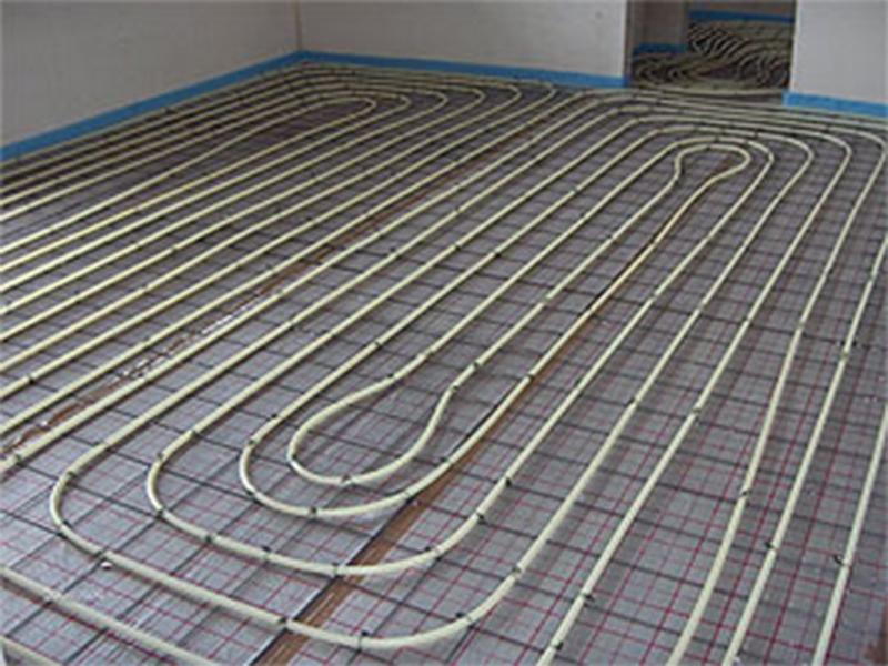 Vloerverwarming In Woonkamer : Gietvloer vloerverwarming is zeer energiezuinig